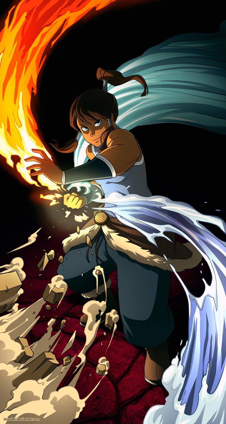 Avatar Korra by Blue-Ten