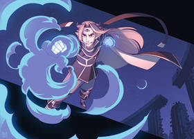 Commission - Valour by Blue-Ten