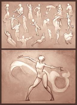 Sketchdump - 30 Second Poses