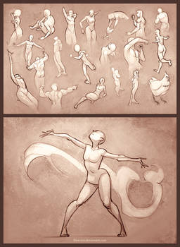 Sketchdump - 30 Second Poses