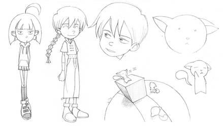 Random Characters by Blue-Ten