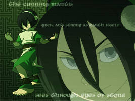 Toph Wallpaper by Blue-Ten