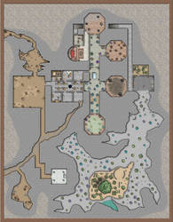 The Sunless Citadel Grove Level