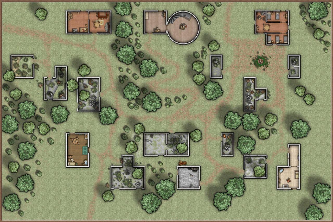 Ruins Of Thundertree By Irondrakex On Deviantart