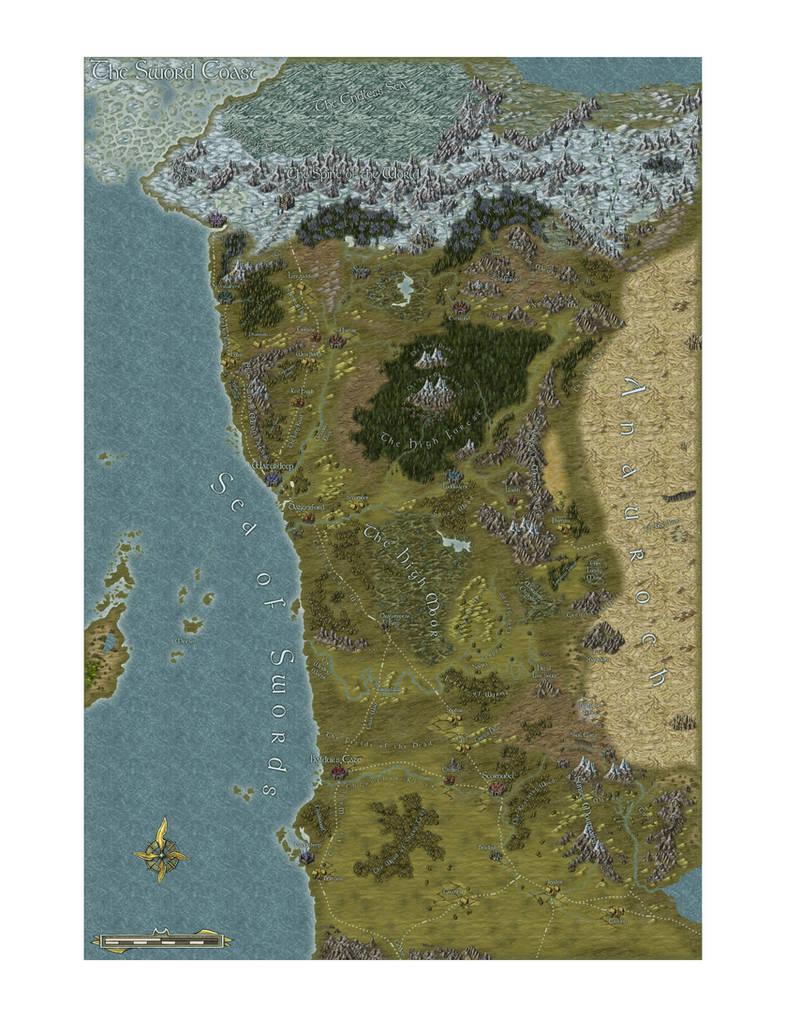The Sword Coast by IrondrakeX