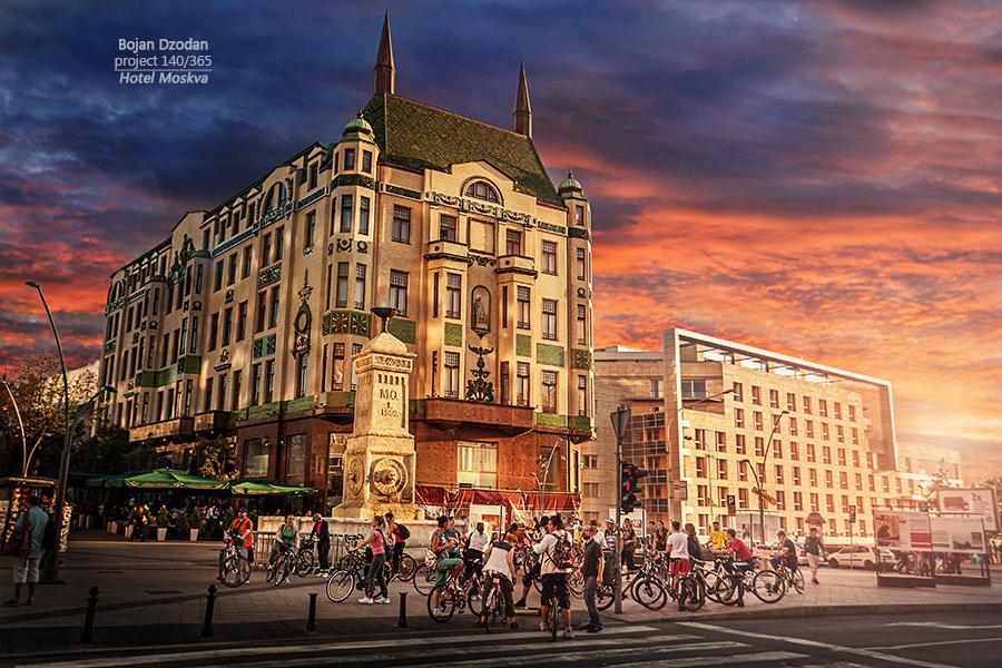 Hotel Moskva by Dzodan