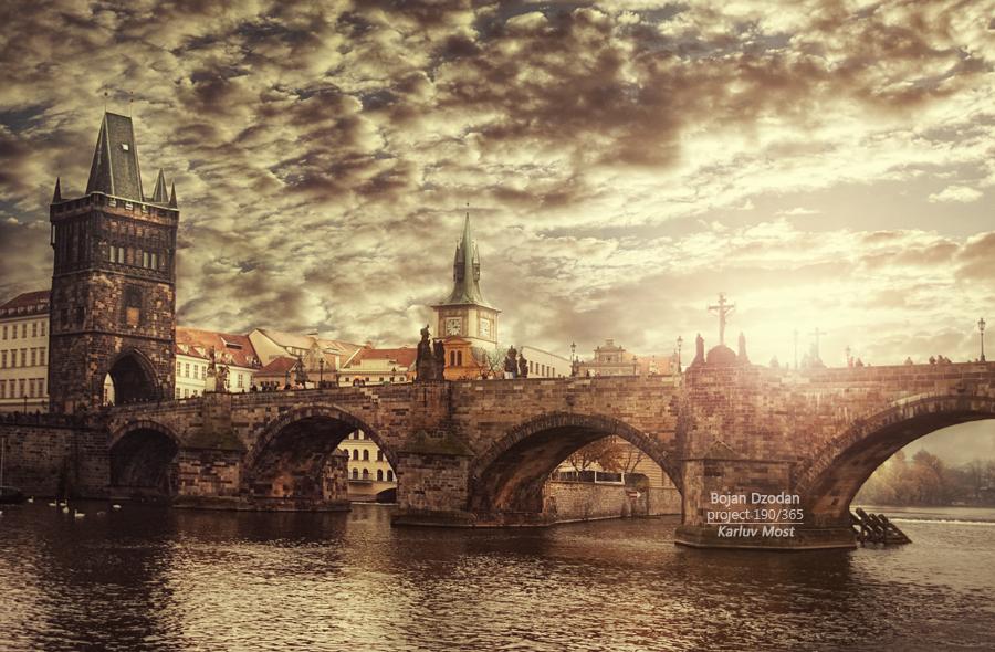 Karluv most by Dzodan