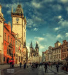 Praha square