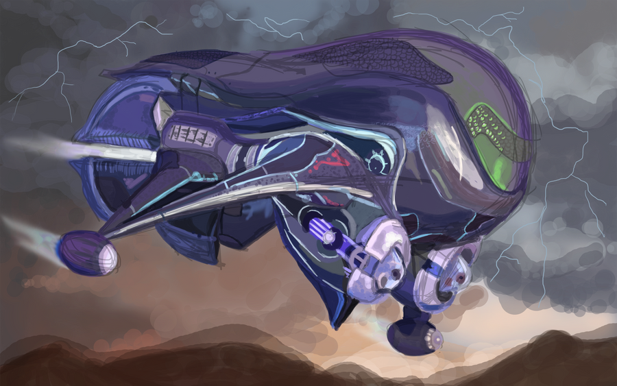 Halo Banshee Drawing Wonder | Banshee Concept
