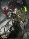 Kisufa, Magician of the Dark Night advance