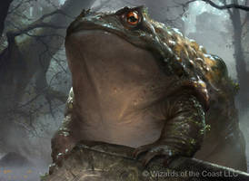 Magic The Gathering Guardian Toad by JackWangLei