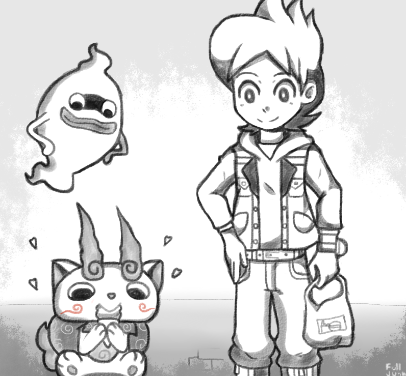 Yo-Kai Watch by Fulljuan on DeviantArt