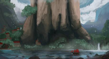 Pirate Cove Sketch