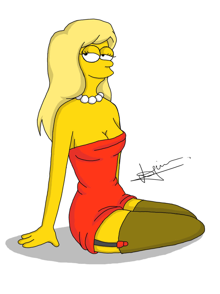 Lisa Simpson by xddx on DeviantArt