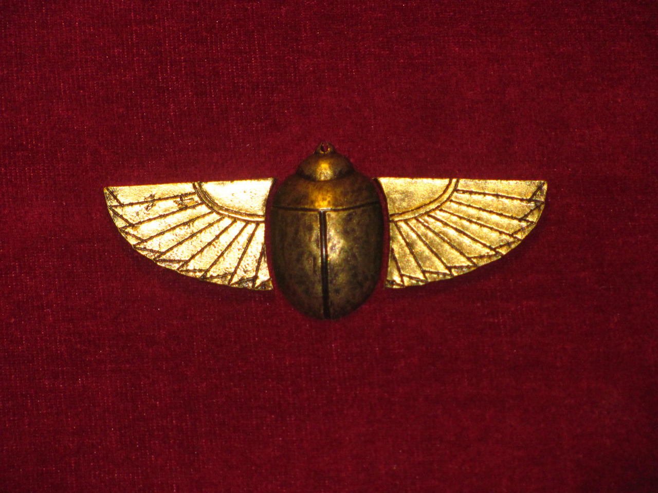 Golden Scarab, Egypt, c. 2250 BCE by VictorianSpectre