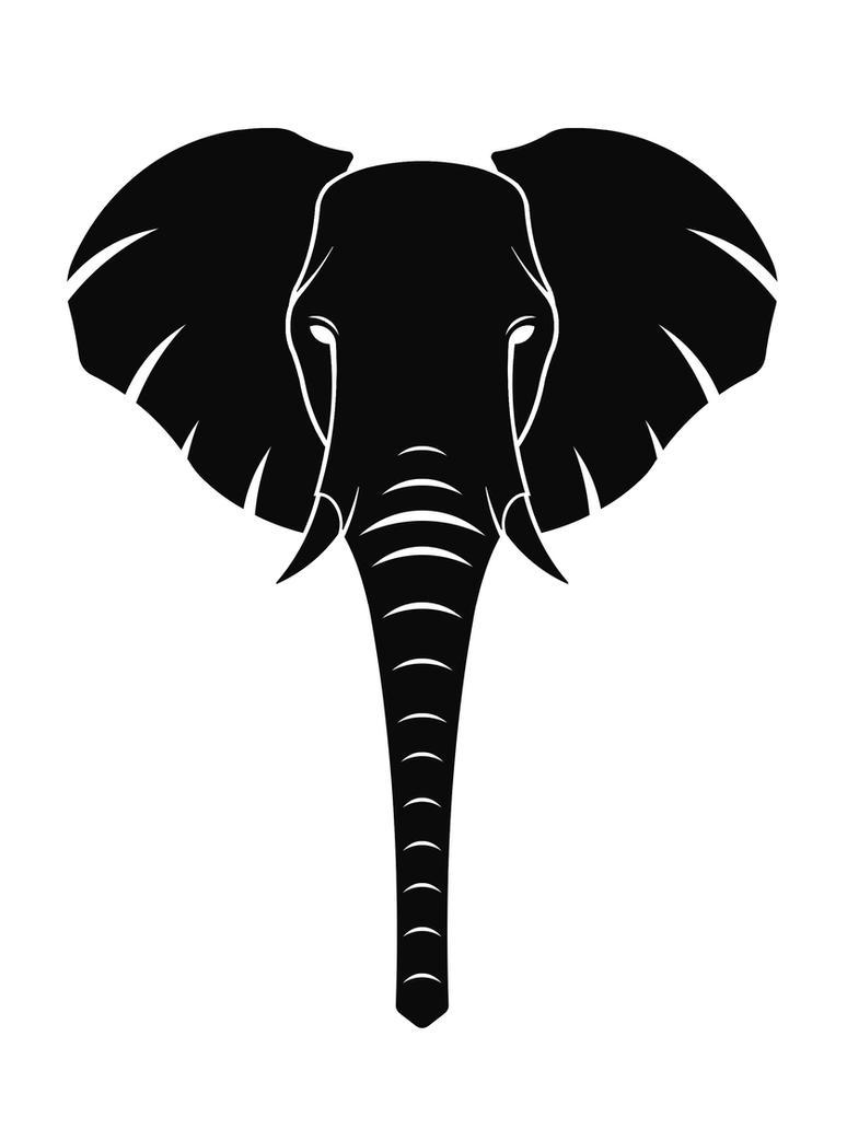 elephant symbol by victorianspectre on deviantart. Black Bedroom Furniture Sets. Home Design Ideas