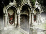 Entrance to the Catacombs of the Dragon by VictorianSpectre