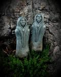 Dark Souls Poison Maiden Statues III by VictorianSpectre