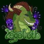 Yogoloth Confuzzled Badge