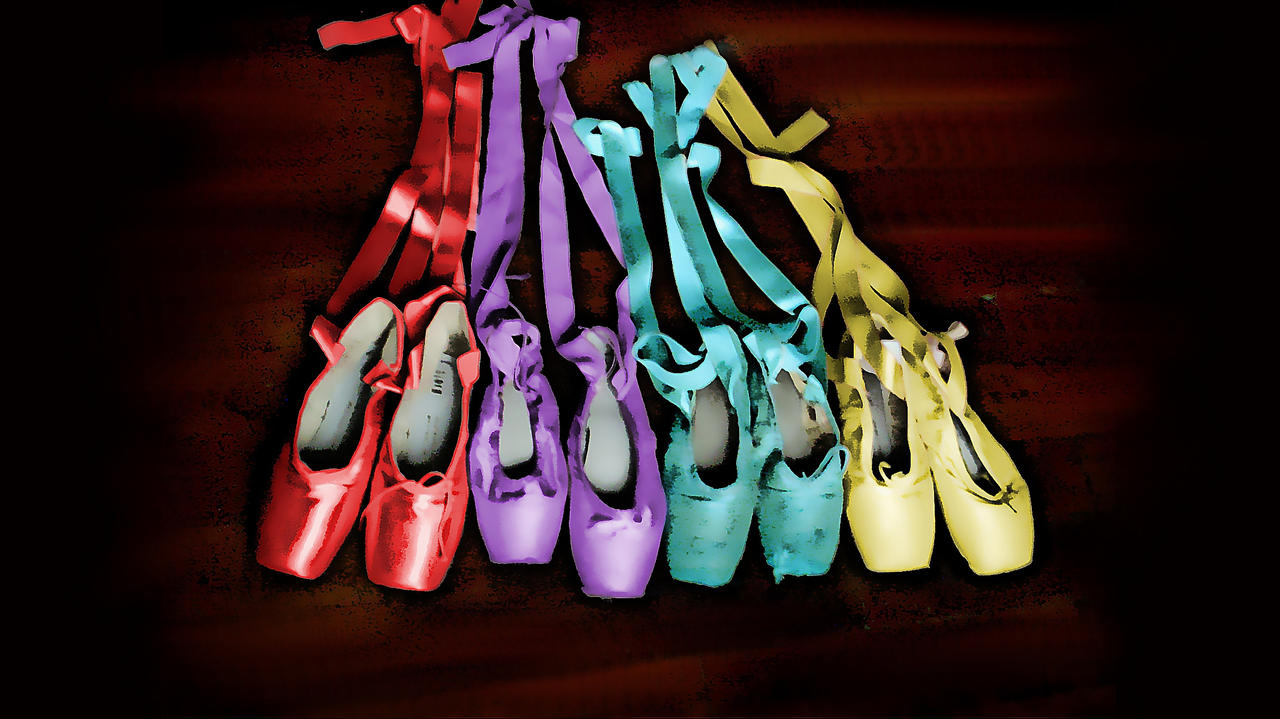 Colorful pointe by mariamc on deviantart