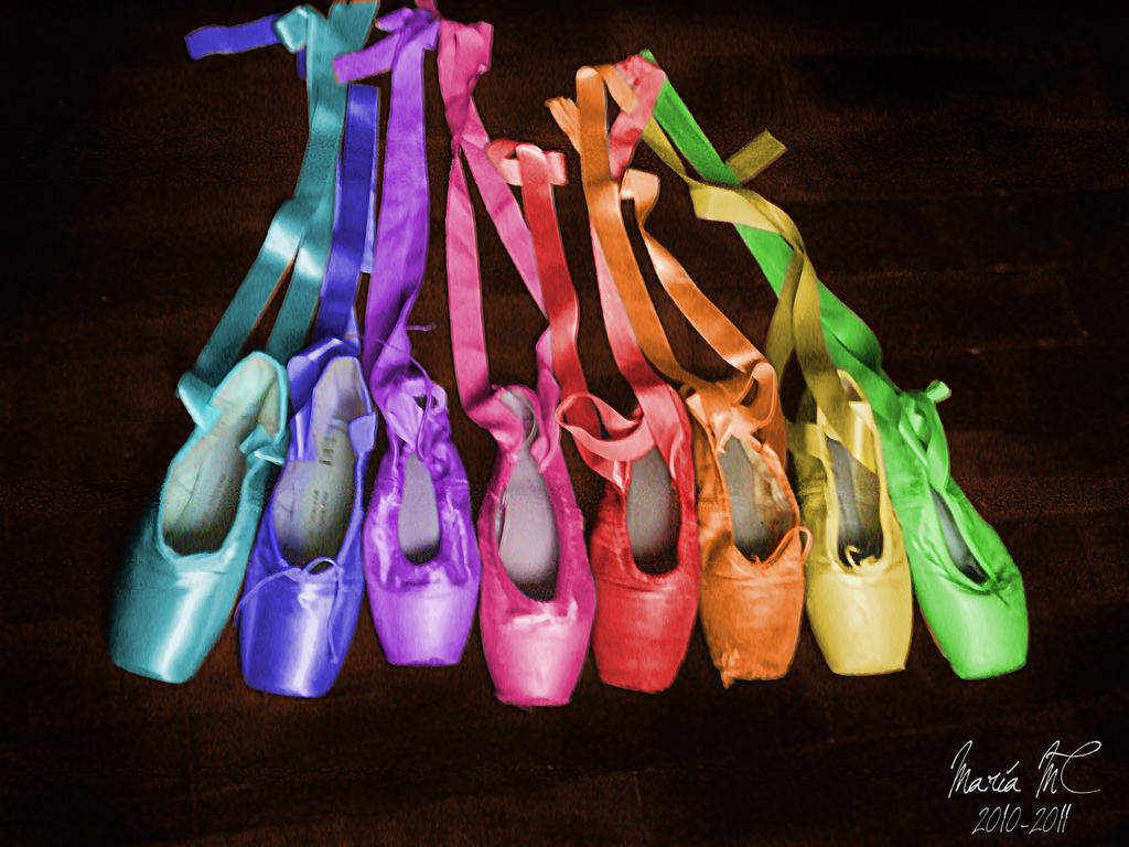 Rainbow ballet by MariaMC