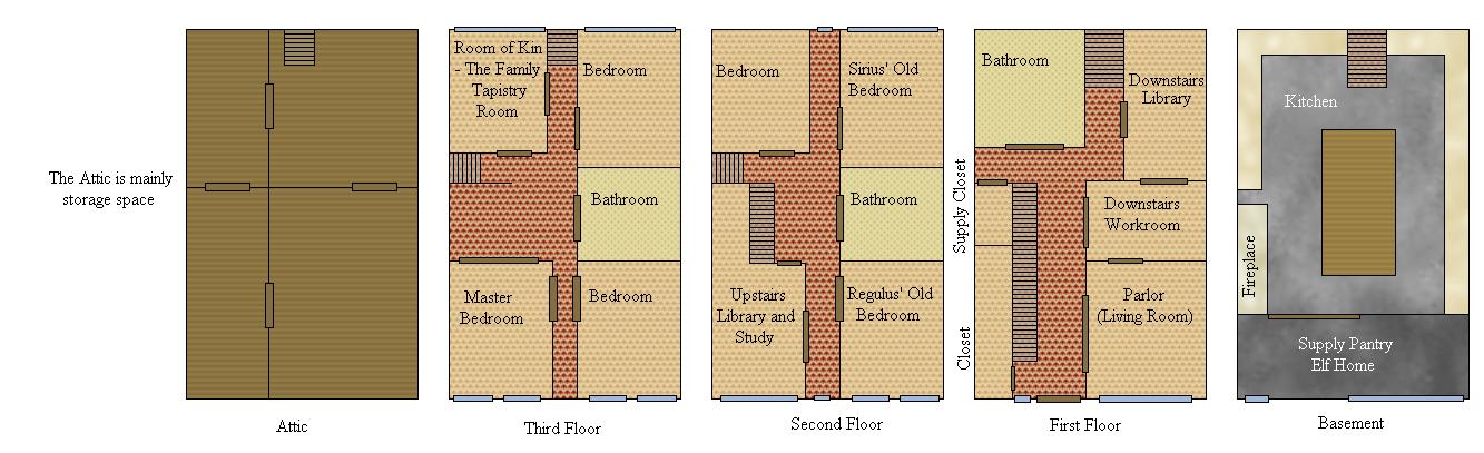 12grimmauldplace explore 12grimmauldplace on deviantart for 12 grimmauld place floor plan