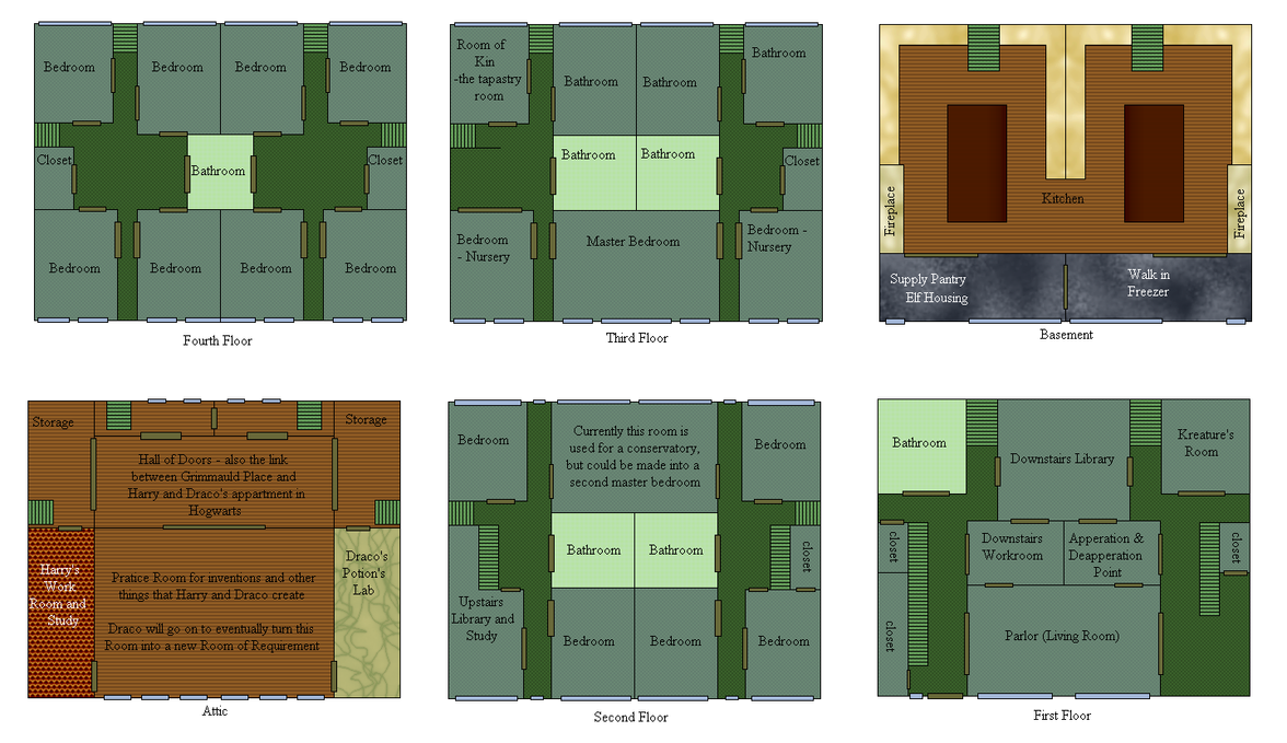 grimmauld place floor plan meze blog