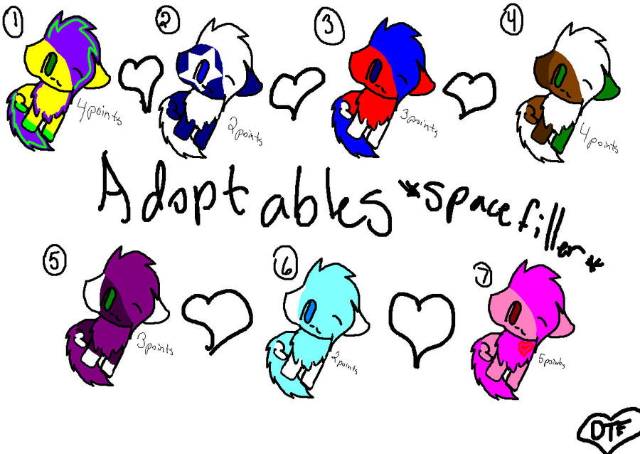 point adoptables by DAISYTHEFURRY