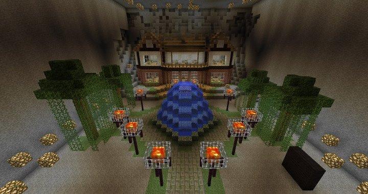 Underground House Minecraft Unfinished By Monkey100132 On Deviantart