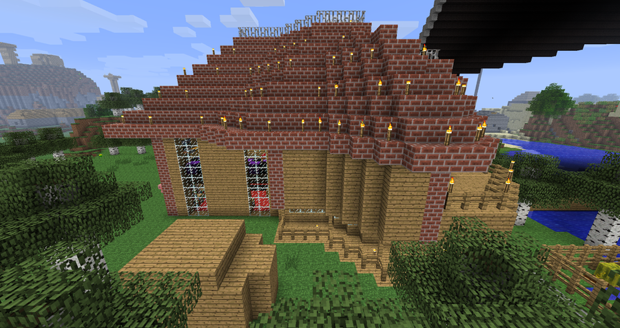 Side View Victorian House MINECRAFT By Monkey100132 On DeviantART