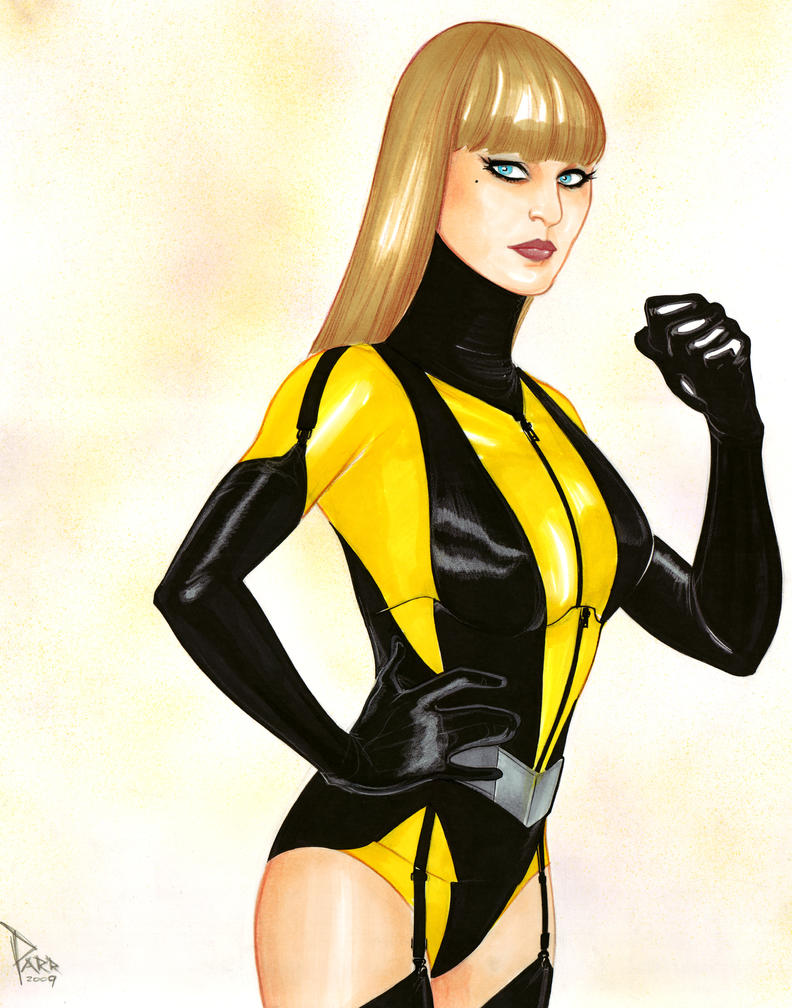 Silk Spectre II by DarthTerry on DeviantArt Watchmen Characters Silk Spectre