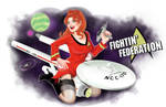 Fightin' Federation Nose art