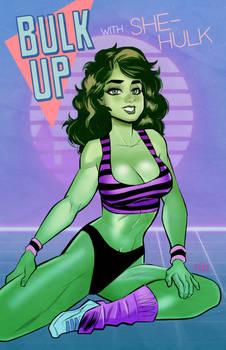 She Hulk Work Out