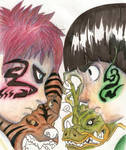 Lee and Gaara