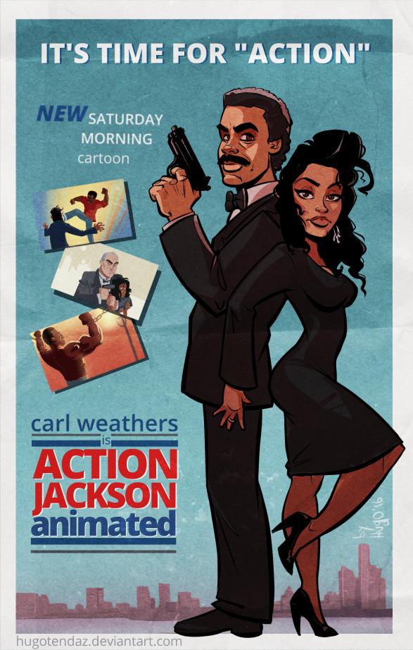 vanity action jackson. Action Jackson Animated Poster By HugoTendaz Vanity