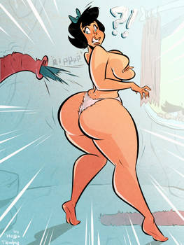 Betty Rubble - New Vacuum Cleaner - Commission