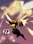 Tinkerbell vs The Wasp - Commission
