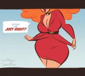 Miss Sara Bellum - Too Tight or Just Right?