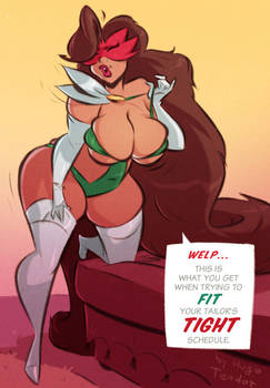 Salvadora - Tight Schedule - Commission
