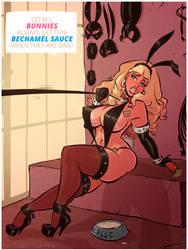 Bunny Cisse - Bechamel - Cartoon PinUp Commission by HugoTendaz