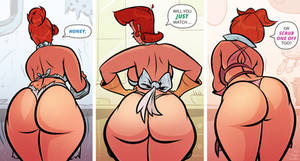 Cartoon MILFs - Scrub One Off - Cartoon PinUp