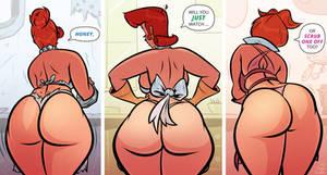 Cartoon MILFs - Scrub One Off - Cartoon PinUp