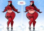 Ruby - Thicc to Extra Thicc - Commission