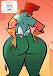 Dexter's Mom - Mother's Day - Cartoon PinUp