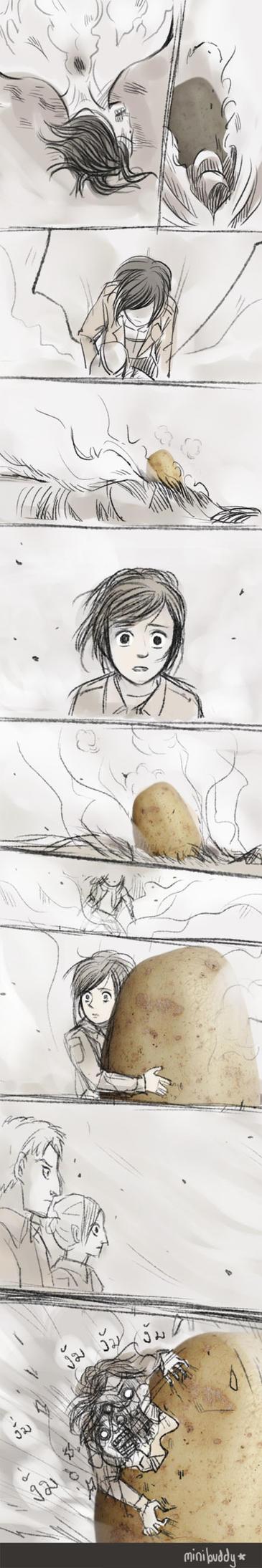 The most Epic Scene- Attack on Titan by minibuddy