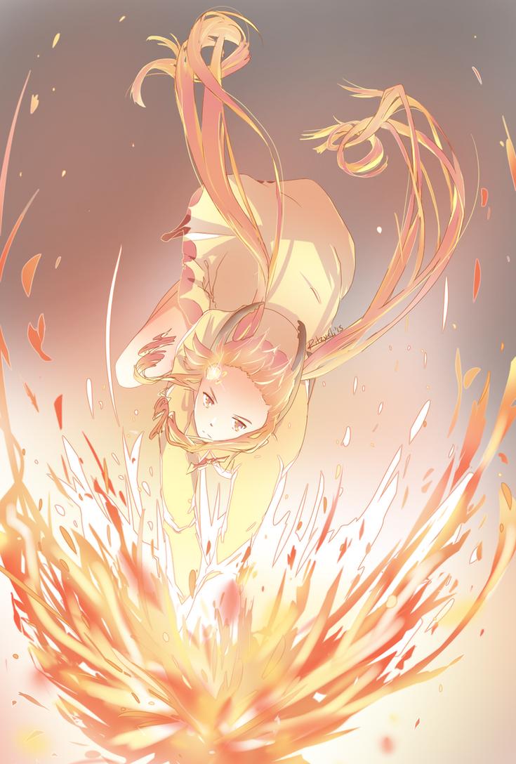 Flame Dance by Ritzueli