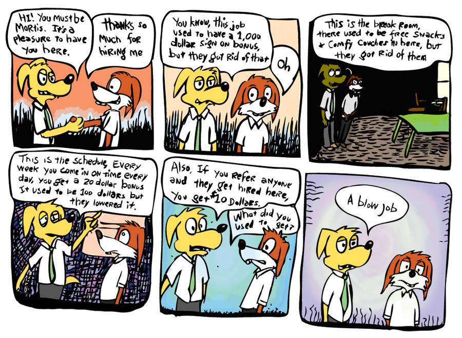 Business comics by Scurrow