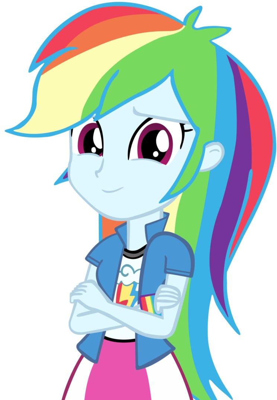 Rainbow dash - equestria girls by Rainbowdashisme on ...
