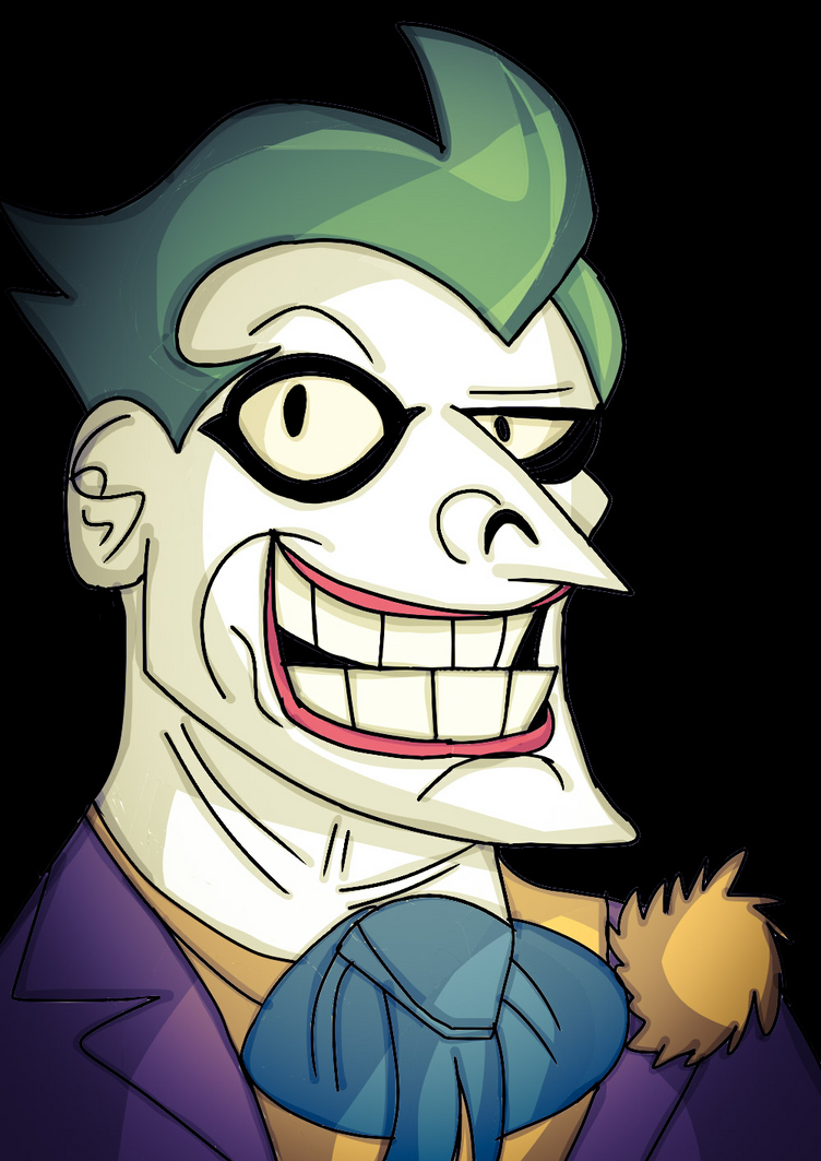 Joker. (Batman:The Animated Series. ) by 21WolfieProductions