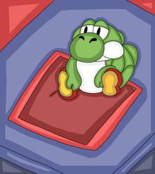 Fat Yoshi. (Dank Meme.)